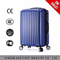 Fashion hard shell good quality travel bag trolley luggage/ABS +PC aluminum alloy luggage suitcase bags