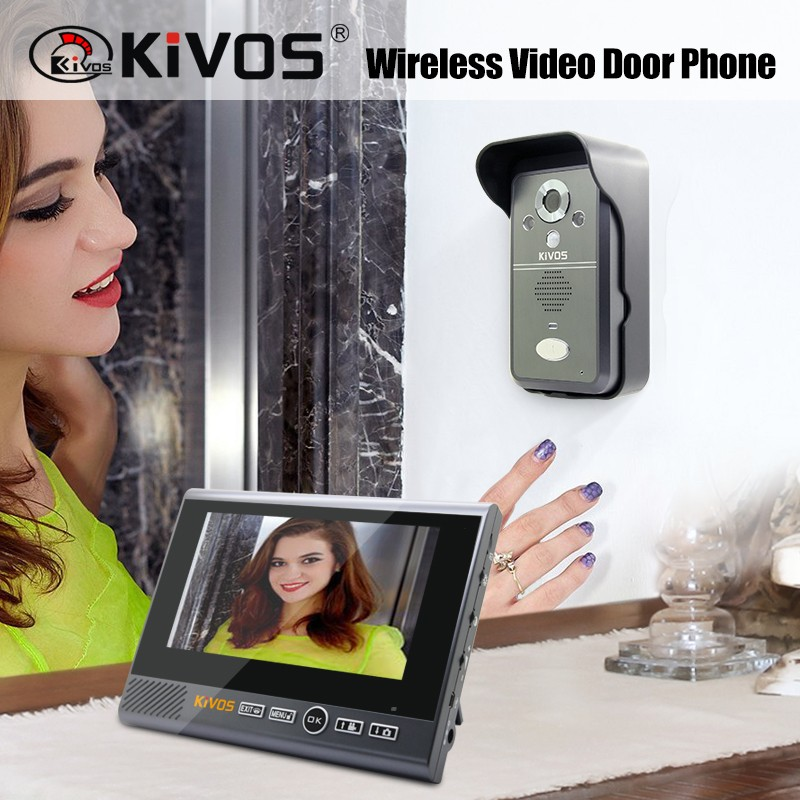 KIVOS KDB700 Smart Home Door Entry System wireless video door phone