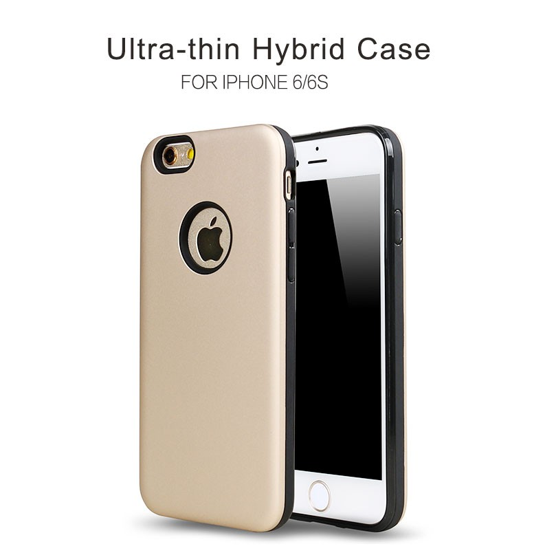 New Arrival Ultra-thin Hybrid Cover for iphone 6 case back covers