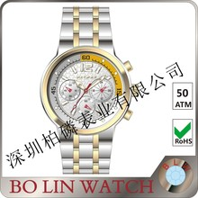 2016 top 10 brand automatic mechanical hand winding wrist watch for men sapphire