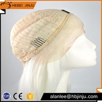 indian brazilian gray invisible part full lace wig remy human hair wigs