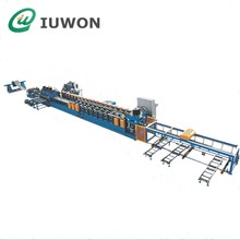 Full Automatic Two Ribs Highway Guardrail Roll Forming Machine