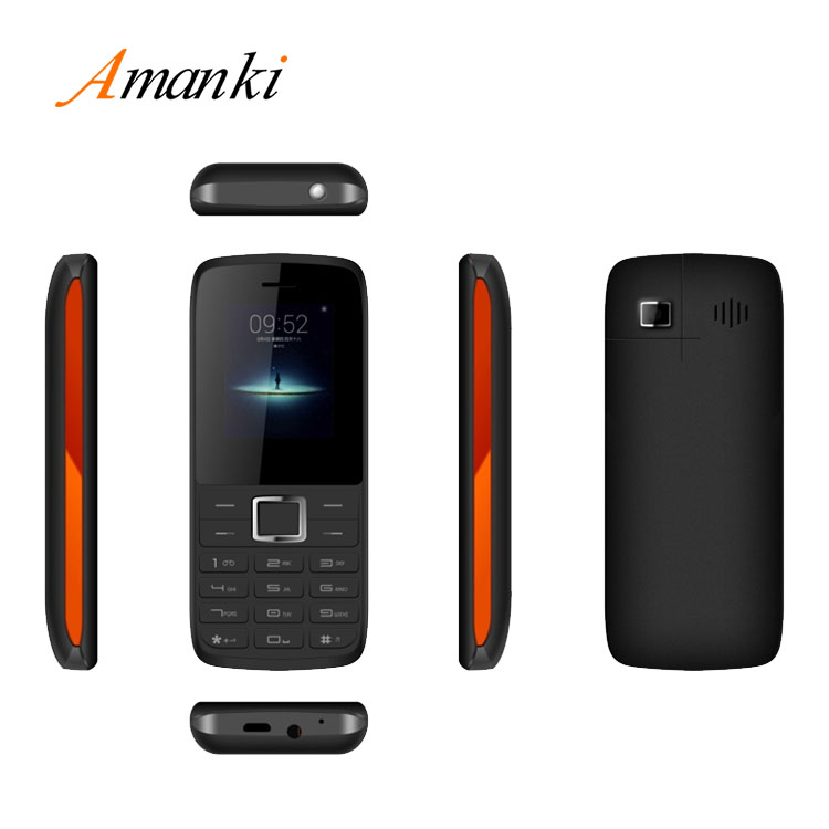 New Products! High Quality Amanki Rugged Android Mobile Phone 1.8 inch Feature Bar Phone With Whatsapp Facebook
