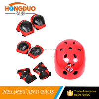 red color child safe helmet and knee pads for sale