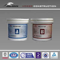 epoxy dry hanging adhesive as concrete construction material