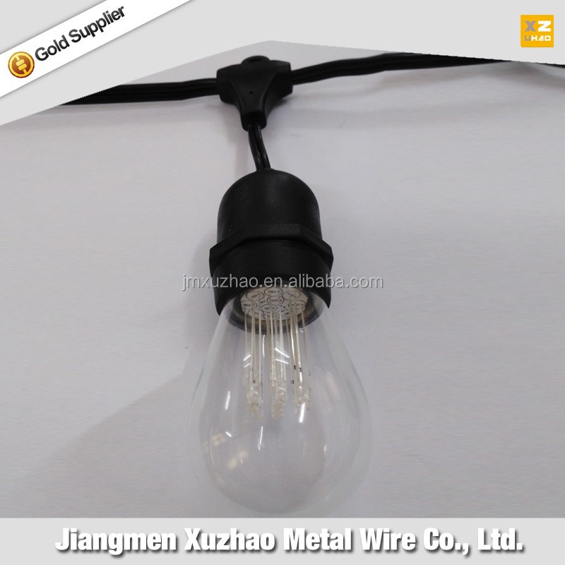 Alibaba china supplier ul certificate e26 Commercial grade strings lighting led ball