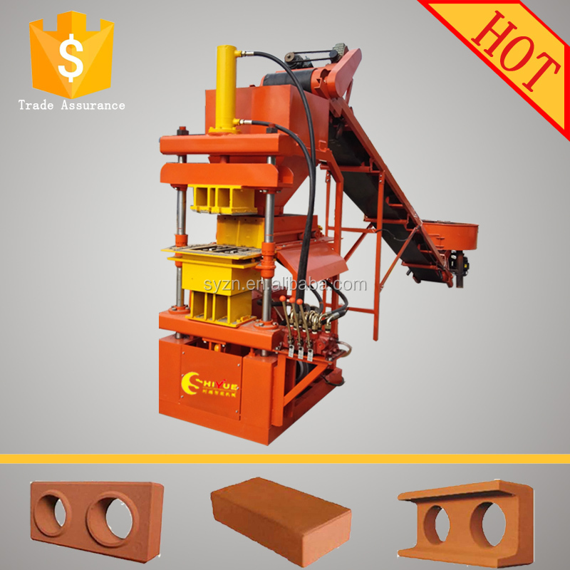 high production full automatic red soil brick making machine 2-10 compressed earth blocks machines