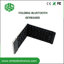 usb charging wireless ultra-thin folding mini bluetooth keyboard