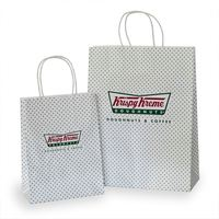 Hot Selling Hole Punched Paper Shopping Bag With Low Price