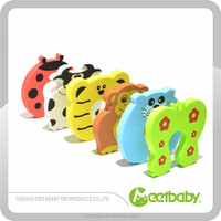 Soft And Durable Colored Child Safety Items Door Stop