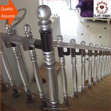 Guangzhou manufacturer acrylic interior portable stair railings for indoor stairs.