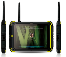 Phablet 8 inch 3g sensor Labour Management ip68 rugged military tablet pc