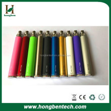 high quality various color option whole sale 510 ego twist 650mah 900mah 1100mah 1300mah battery