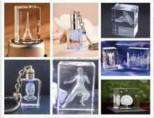 3d engraving glass/acrylic/crystal engraving portable glass cube laser engraving machine price