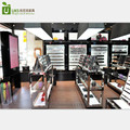 2017 Wooden Cosmetic Shop Furniture Cosmetic Shop Interior Decoration Design for Cosmetic Shop