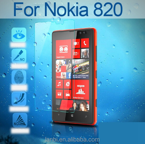9H HD Ultra Thin Premium Real Tempered Glass Screen Protector Film Japanese Glue tempered glass For Nokia N820
