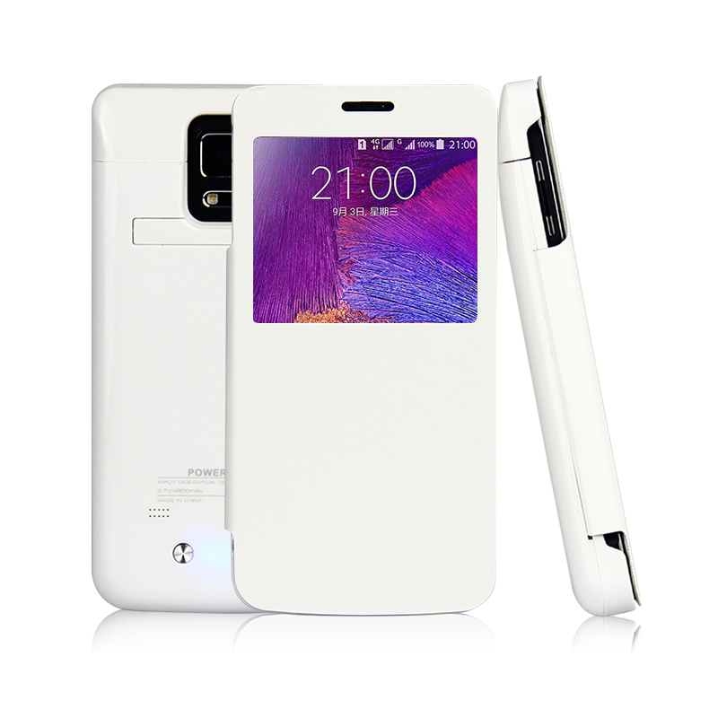 Backup External Charger Battery Case For Samsung Galaxy Note 4