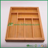 FB5-1072 Bamboo expandable cutlery tray knife holder utensils cutlery flatware tray