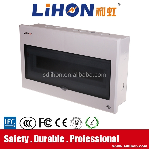 18 gang family electrical power distribution board