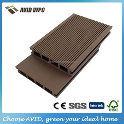 2016 new factory price waterproof wood plastic composite outdoor decking flooring board prices