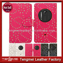 For Nokia Lumia 1020 leather case,wallet leather case for Nokia 1020