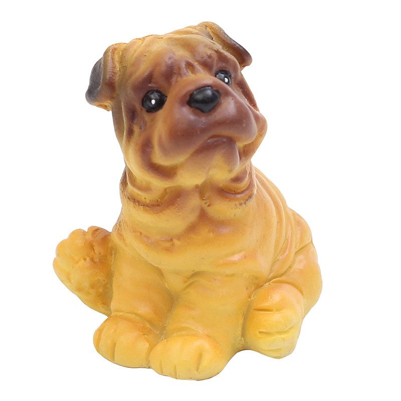 ROOGO resin dog for home decor mall spaces decorating your home