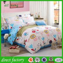 high quality hello kitty 100 cotton bedding set with low price