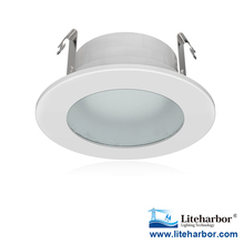 Free sample MR16/GU10 LED 3 inch 6w max shower trim with frosted lens for wet location listed