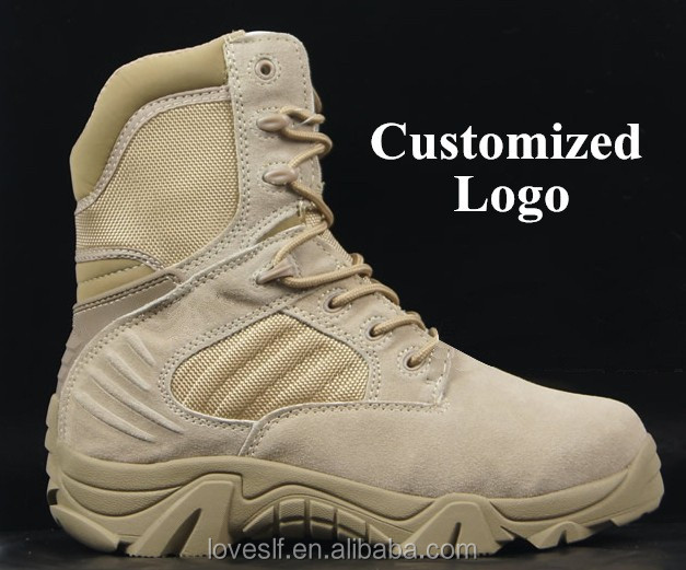 loveslf cow leather custom high quality tactical military high heel <strong>boots</strong>