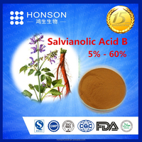 herbal medicine salvia root extract Salvianolic Acid B for Protect liver / kidney