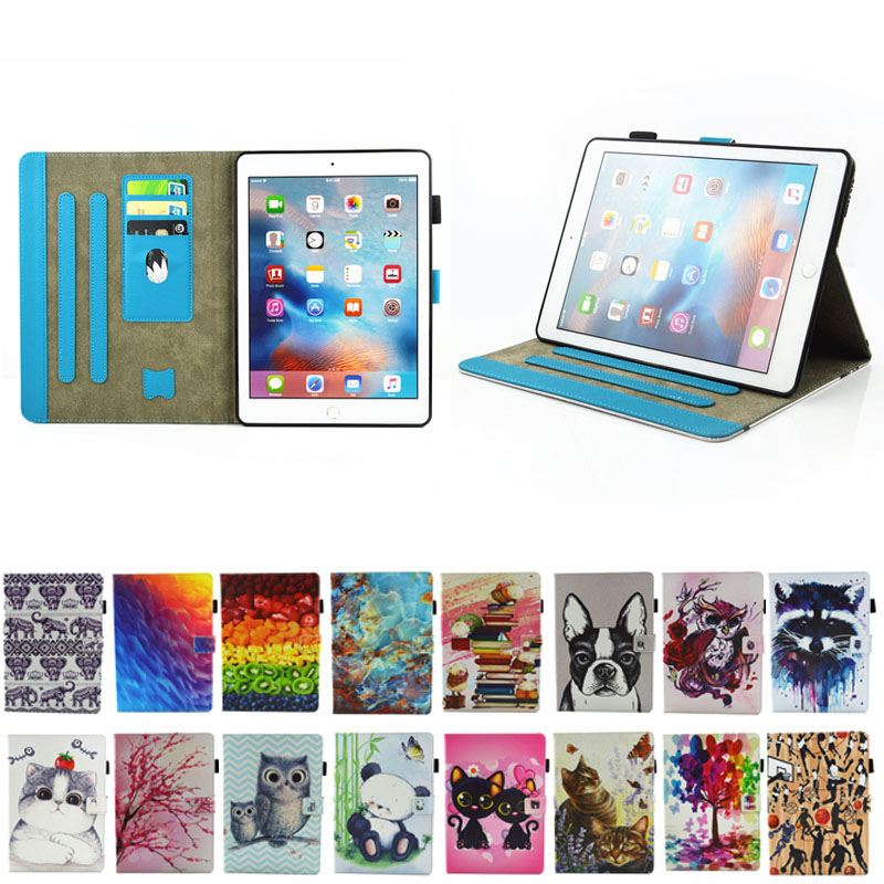 Cartoon pattern For iPad Pro 10.5 inch Tablet Case Leather Flip Cover