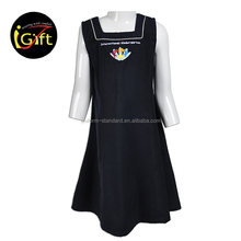 Factory Good Quality Beautiful Pinafor School Uniform Sample