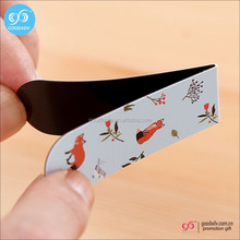 Customized logo folding magnetic bookmark