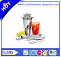 High Quality Bar Tool Set Cocktails Shaker Stainless Steel Bar Tending Set