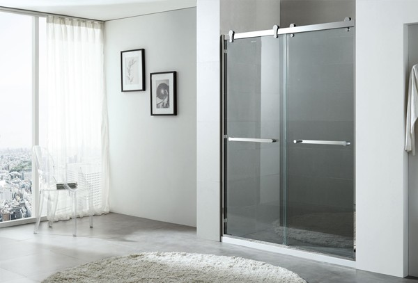 1200*2000(mm) shower enclosure design 8mm glass shower trays and cubicles