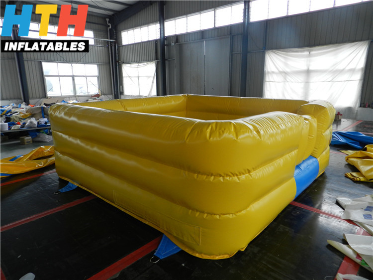Hot sale outdoor inflatable foam pit for sale
