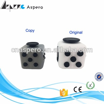 High Quality and cheapest Fidget Cube for Gift for pressure relief's kickstarter fidget toy relieves stress cube game