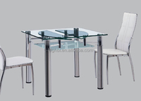 round glass top dining table extendable