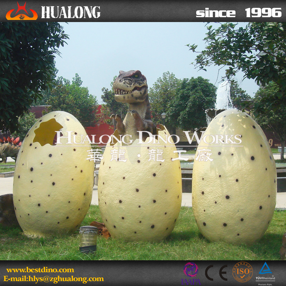 Outdoor Playground Decor Huge Size Dinosaur Egg Toys