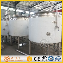 High quality stainless steel beer jacket beer boil beer brewing fermenteing vessels for sale