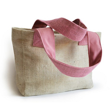 Premium quality tote jute gift bag wedding in bulk