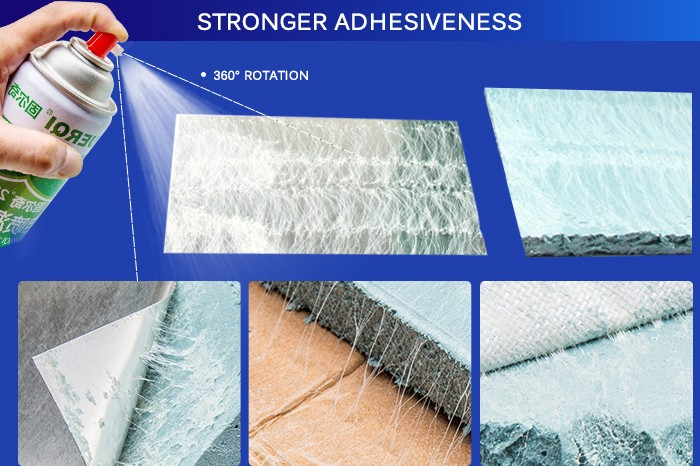 Strong Adhesiveness Strong Rubber Sponge Spray adhesive glue