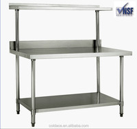 Stainless steel outdoor work bench made in China
