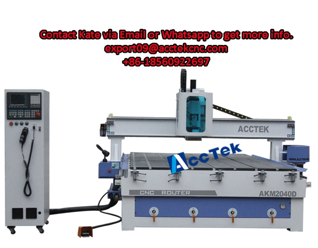 AKM2040D Syntec control system ATC cnc machine 3 axis cnc wood cnc router for mdf