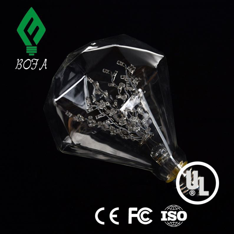Super bright T10/W5W,1.5W diamond,12V-24V DC,auto led bulb