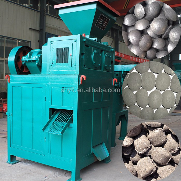coal dust charcoal briquette machine