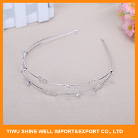 Charming metal hair accessories for women with high quality
