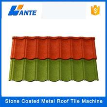 Trade assurance waviness colorful stone coated roof tiles,stone coated metal roof tile