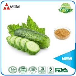 100% Nature Cosmetic Ingredients Cucumber Extract 10:1 Powder