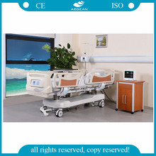 With 3 years warrenty Linak motors seven functions three columns intensive treatment electric hospital bed for patients used